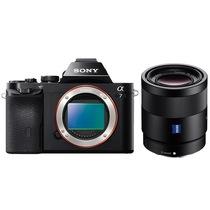 索尼  a7/α7/ILCE-7K 全画幅微单数码相机/单电 WiFi分享 a7机身+FE55mm产品图片主图