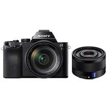 索尼  a7/α7/ILCE-7K 全画幅微单数码相机/单电 WiFi分享 24-70+FE35双镜套装产品图片主图
