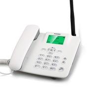 华为 F317 无线固话座机 插卡电话机 移动联通手机卡白色
