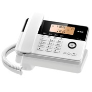 步步高 HCD218 有绳电话机 免电池座机 高档家用 时尚外观 屏幕夜光 钢琴烤漆 来电显示