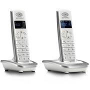 摩托罗拉 数字无绳电话机屏幕背光中文按键家用办公电话座机D502C(白色)
