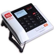 纽曼  HL2007TSD-278(R)商务办公录音电话机1120小时自动答录智能拨号名片弹屏黑白名单赠8G卡