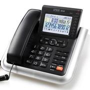 渴望(crave) D007 录音电话机 会议固话 留言 来电显 黑色
