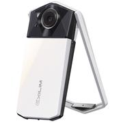 卡西欧 EX-TR600 数码相机 白色 (1110万像素 21mm广角 自拍神器)