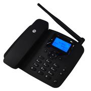 摩托罗拉 FW200L 插卡电话机 移动固话 办公座机 黑色