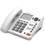 松下 KX-TS398CN免提通话来电显示电话机家用办公座机(白色)