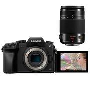 松下 LUMIX DMC-G7 微型单电套机 黑色(35-100mm 恒定F2.8 变焦镜头)