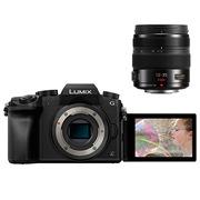 松下 LUMIX DMC-G7 微型单电套机 黑色(12-35mm 恒定F2.8 变焦镜头)