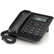 摩托罗拉 CT410C 免电池家用办公电话机 座机 黑色
