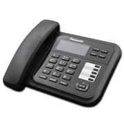 松下 KX-TS328CN炫彩屏来电显示电话机家用办公座机(黑色)