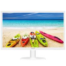 飞利浦 243V5QSW 23.6英寸 AMVA广视角 16:9全高清 高对比度 显示器(白)产品图片主图