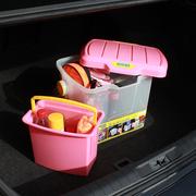 爱丽思 WB25 多用箱 野营凳 洗车水桶 水桶 粉/透明色
