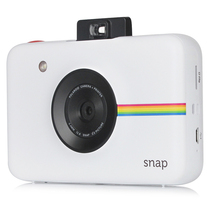 宝丽来 SNAP 拍立得相机 白色 即拍即得 (1000万像素 ZINK无墨打印 三种照片色彩)产品图片主图