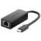 绿联 30287 USB3.1 Type-C转百兆网卡以太网转换器 支持新版苹果Macbook电脑转RJ45接口产品图片1