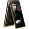 波导 V90 移动4G智能翻盖手机 双卡双待 金黑色产品图片1