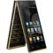 波导 V90 移动4G智能翻盖手机 双卡双待 金黑色产品图片2