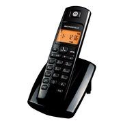 摩托罗拉 D401C 数字无绳电话机办公家用电话机 (黑色)