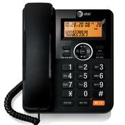 at&t 电话机座机办公电话中文按键来电显示CN2309BK黑色