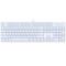 赛睿 Apex M260霜冻之蓝版 游戏键盘 黑轴产品图片2