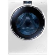 三星 WW10H9610EW/SC 10公斤 原装进口 泡泡净技术 蓝水晶视窗 智能变频滚筒洗衣机 (典雅白)