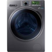 三星 WD12J8420GX/SC 12公斤 泡泡净技术 蓝水晶视窗 大容量超薄洗烘一体滚筒洗衣机(钛晶灰)