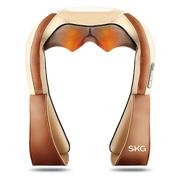 SKG 4079 多功能按摩器颈部腰部 充电揉捏红外理疗按摩披肩