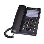 宝泰尔 电话机座机家用办公电话K042黑色交换机专配