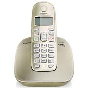 德国金阶  A180系统无绳电话机中文显示免打扰单机(香槟金)