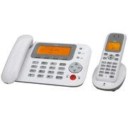 TCL HWDCD868(30)TSD D31 数字无绳电话机中文显示免提通话一拖一电话子母机(雅致白)