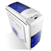 金河田 启源8白 游戏机箱 (USB3.0/10秒开机SSD/背线/免工具/全防尘) 游戏联盟
