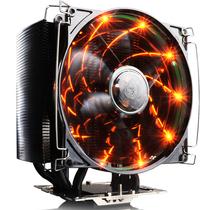 超频三 风冻黑金版 智能温控 全平台CPU散热器(5根8mm热管/12cm静音风扇)产品图片主图