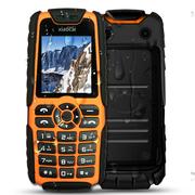 小采 X6 EBEST(A5000)移动/联通2G 三防手机充电宝老人手机 双卡双待 橙色