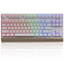 黑爵 AK47MKII 87键幻彩机械键盘 青轴白色产品图片主图