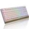 黑爵 AK47MKII 87键幻彩机械键盘 青轴白色产品图片2