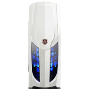 大水牛 速影 白色 中塔机箱(U3/SSD/背线/支持水冷/多风扇安装支持)