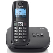 德国金阶 E710A系统进口无绳答录电话机中英文菜单单机(钢琴黑)