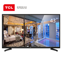 TCL 43E10 43英寸 内置WiFi 在线影院互联网LED液晶电视(黑色)产品图片主图