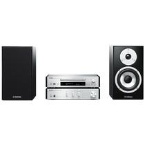 YAMAHA MCR-N770 迷你音响 CD/蓝牙/wifi网络播放机音箱组合套装(播放机CD-NT670)银色产品图片主图