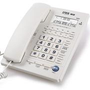 渴望(crave) B252 办公电话机 一键拨号 免电池座机 白色