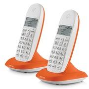 摩托罗拉 C1002XC 数字无绳电话机环保节能电话机 (橙色)