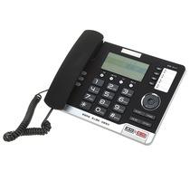 中诺  G071 语音报号/铃声静音/海量储存电话机座机办公/家用座机电话/固定电话座机 雅士黑产品图片主图