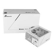 海韵 额定750W SnowSilent750 电源(80PLUS白金/全模组扁线/专利静音设计)