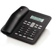 摩托罗拉 CT320C 有绳来电显示电话机免提通话家用办公免电池座机 (黑色)
