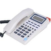 中诺  C052 来电闪灯/自动收线/可接分机电话机座机办公/家用座机电话/固定电话座机 白色