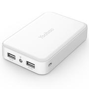 羽博 10000毫安 Z5 双USB输出 移动电源/充电宝 白色 通用手机平板