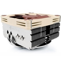 猫头鹰 NH-L9x65  9cm薄扇 4热管CPU散热器 下吹HTPC 下压式温控风扇产品图片主图