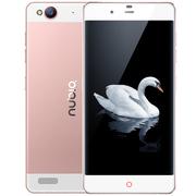 努比亚 My 布拉格 玫瑰版 全网通 4G 智能 手机 (16G ROM) 玫瑰金 标配版