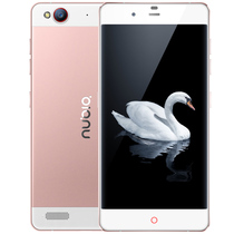 努比亚 My 布拉格 玫瑰版 全网通 4G 智能 手机 (16G ROM) 玫瑰金 标配版产品图片主图