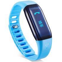 乐心 Mambo 来电智能提醒 来电震动 来电显示 蓝牙运动手环 微信朋友圈运动PK 蓝色腕带版产品图片主图