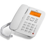 TCL HCD868(137B)TSD 免提通话蓝牙电话机家用办公座机(雅致白)